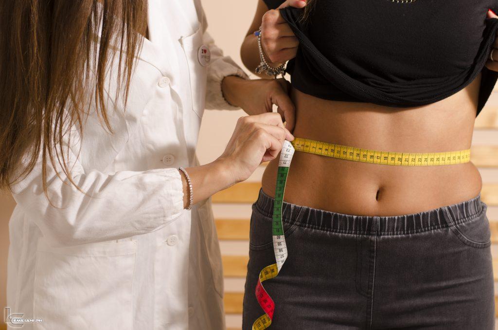 misurazione addome